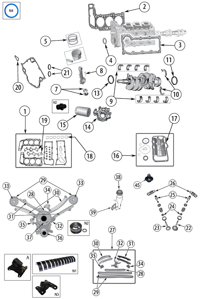 diagrama motor jeep kk liberty 2008  2012