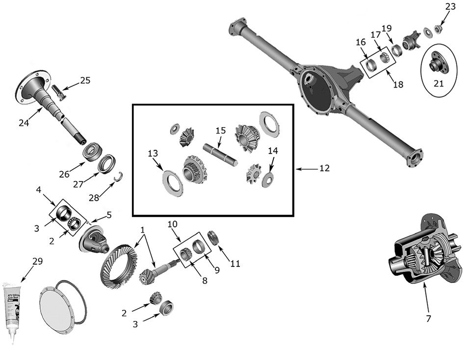 diagram axles jeep kk liberty 2008  2012