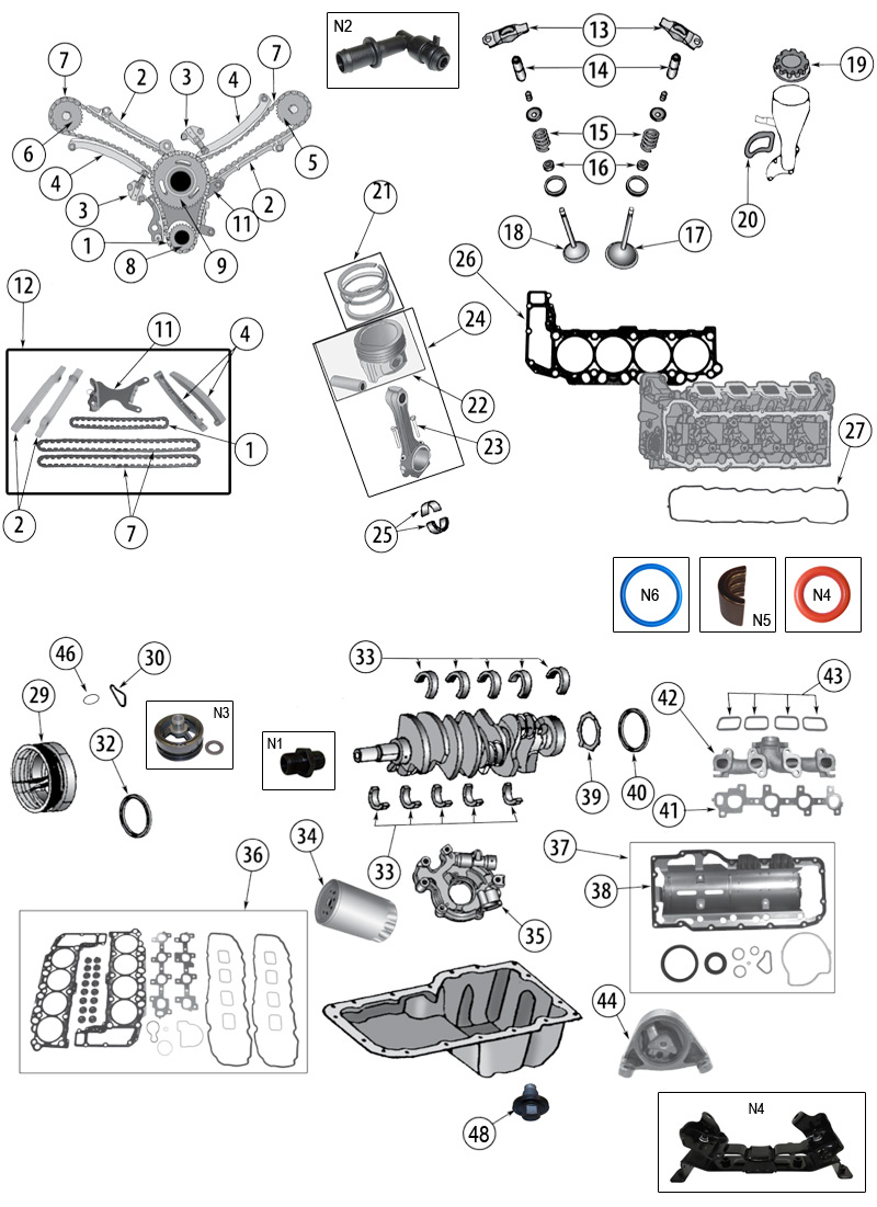 diagram engine jeep wk  wh grand cherokee 2005  2010