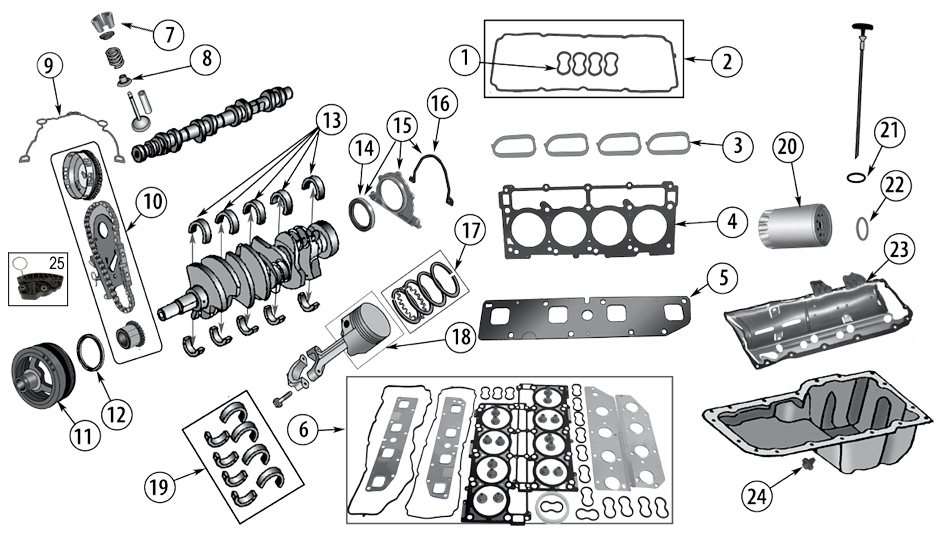 diagramme filtres  u0026 maintenance jeep wk  wh grand cherokee