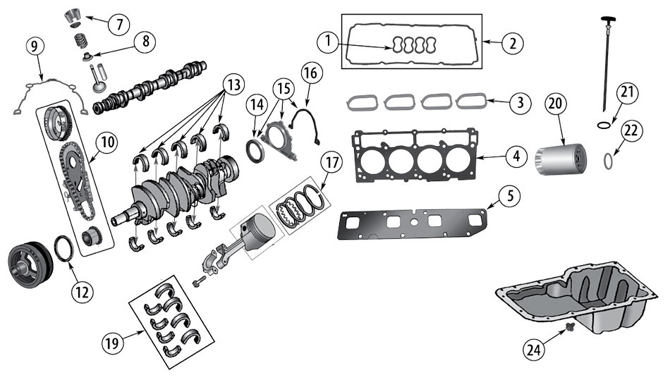 diagrama motor jeep wk  wh grand cherokee 2005  2010