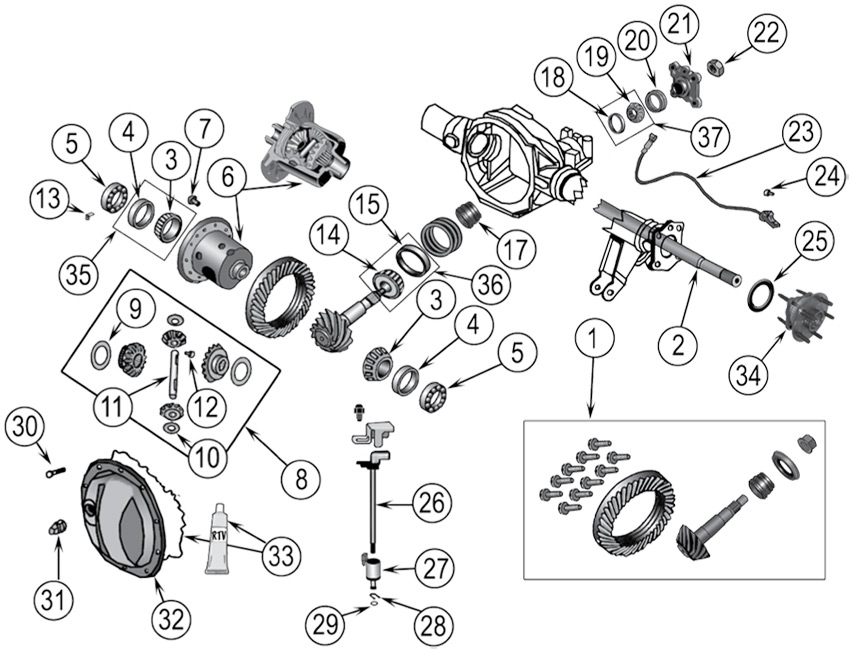 7618 in addition Wtb Front Differential Mounting Cushions in addition T19672171 Ln167r hilux 3litre diesel hamstringing additionally Pt Cruiser Suspension Diagram likewise Speed Transmission Rebuild 7584 Land Cruiser Fj40 Fj60 P 3064. on fj front axle
