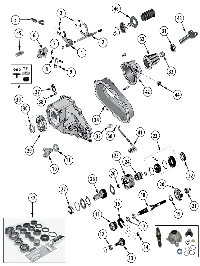 diagrama caja de transferencia jeep xj cherokee 1984  2001