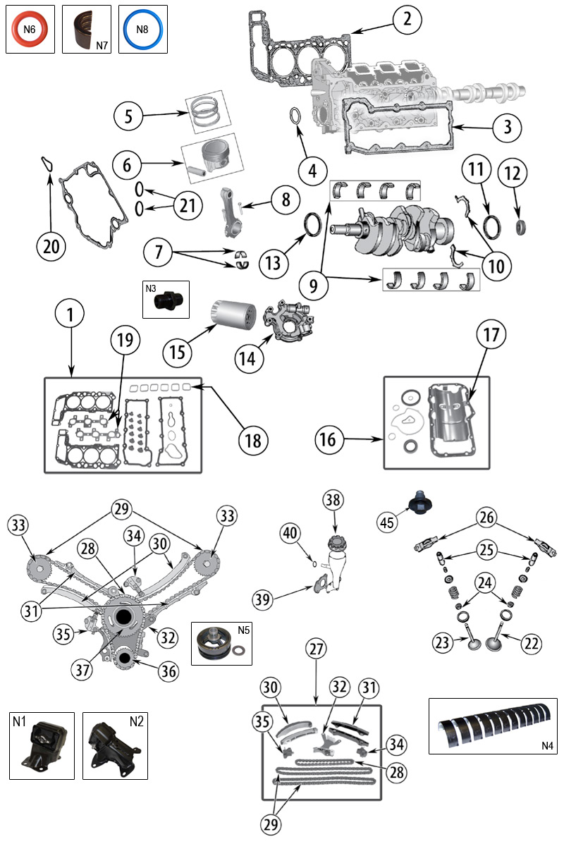 diagram engine jeep xk  xh commander 2006  2010